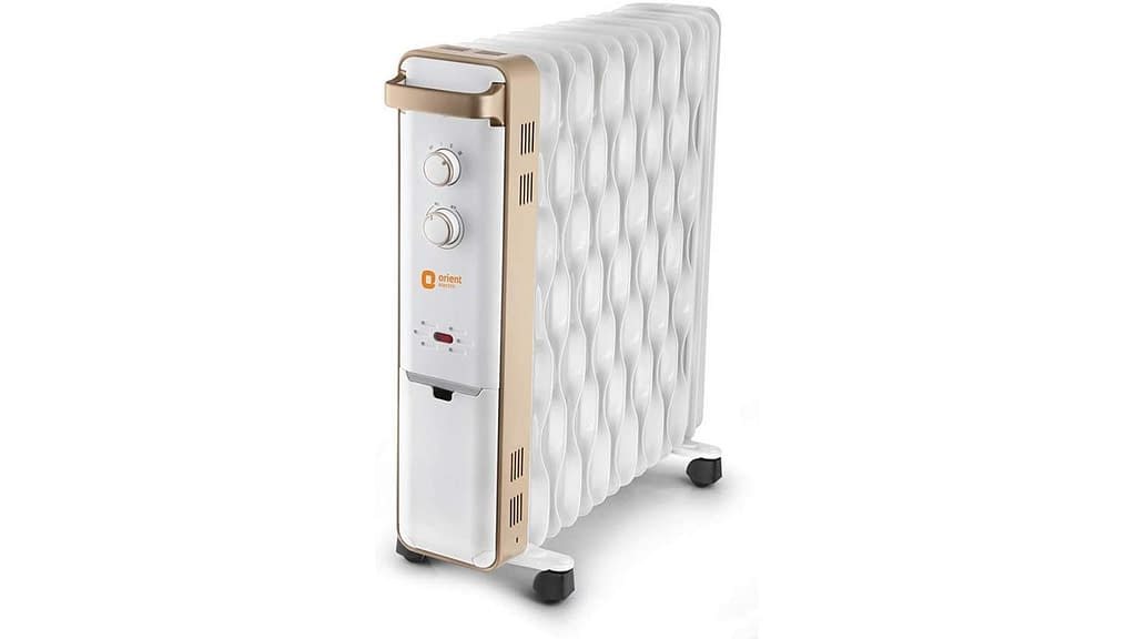 Orient Electric Ultra Comfort Oil Filled Room Heater