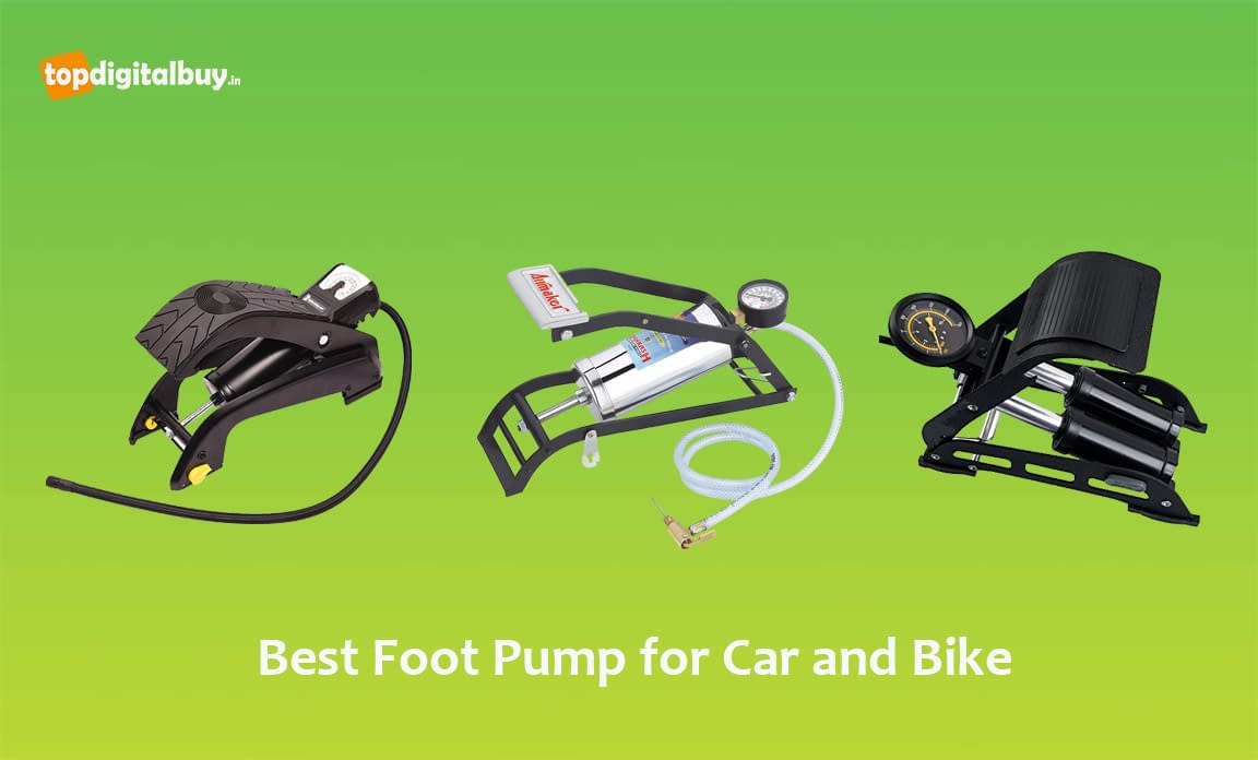 8 Best Foot Pump for Car and Bike in India 2020 [Review]