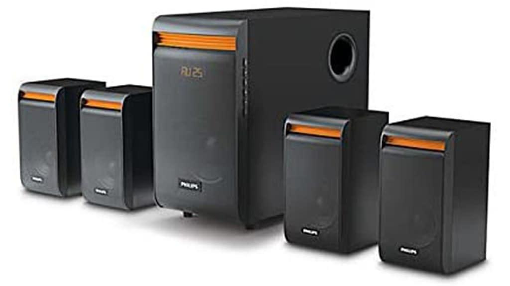 Philips SPA8140B 94 4.1 Channel Multimedia Speaker