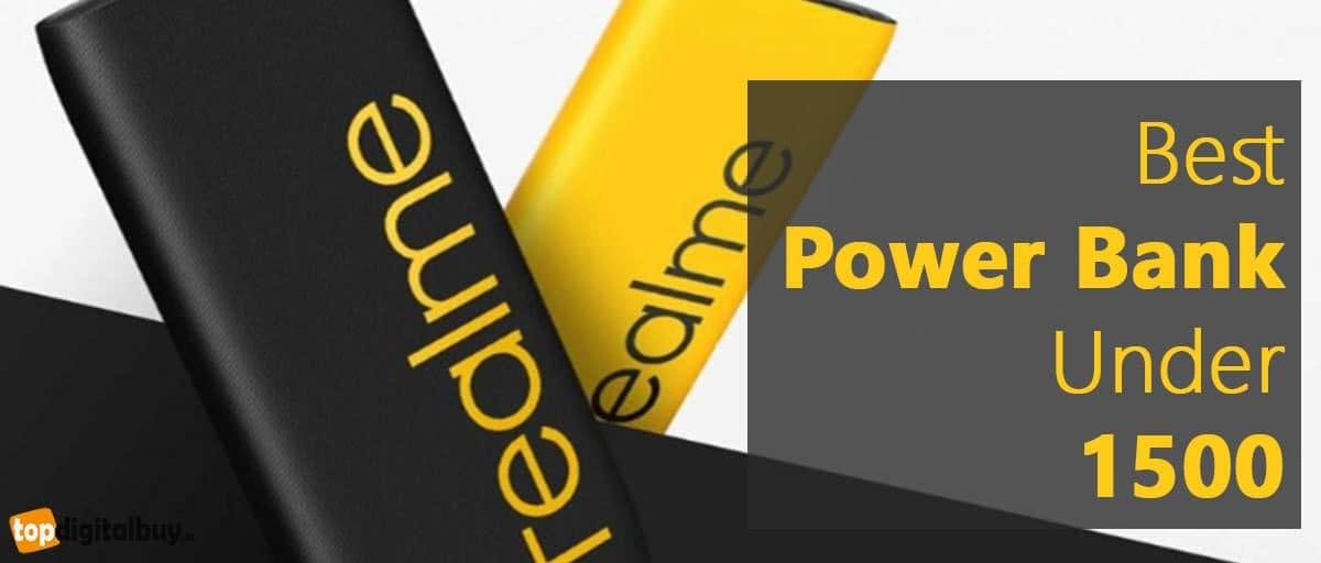 Top 6 Best Power Bank Under 1500 in India 2020 topdigitalbuy.in