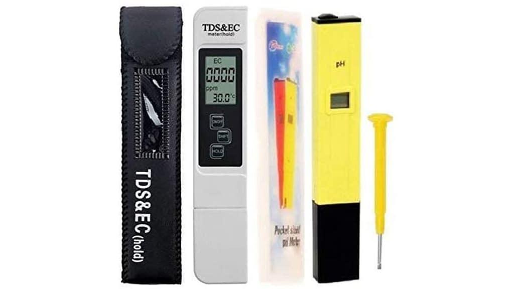 YUV'S TDS Digital LCD PH Meter & TDS Meter