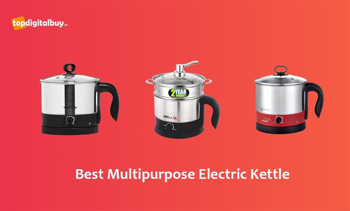 10 Best Multipurpose Electric Kettle Cooker in India 2021