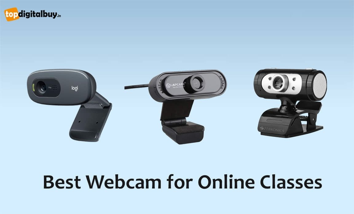 6 Best Webcam for Online Classes India 2021