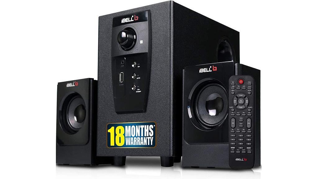 iBELL E240BT 2.1 Channel Multimedia Speaker System