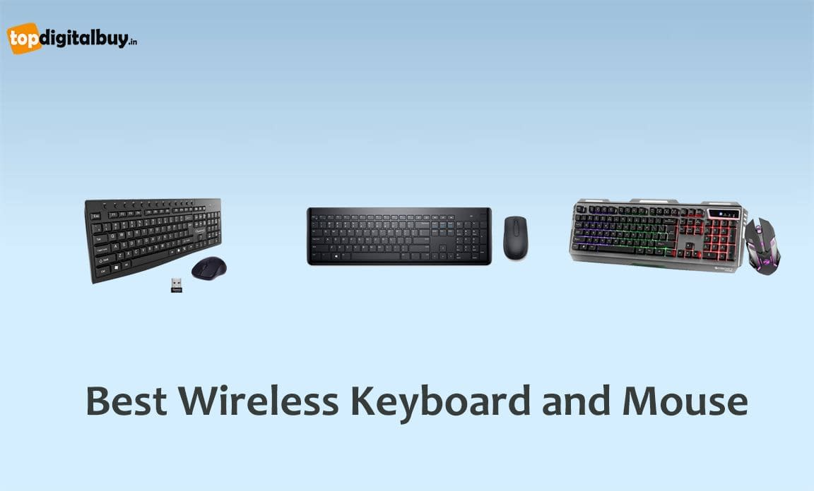 [Top 9] Best Wireless Keyboard and Mouse in India 2021