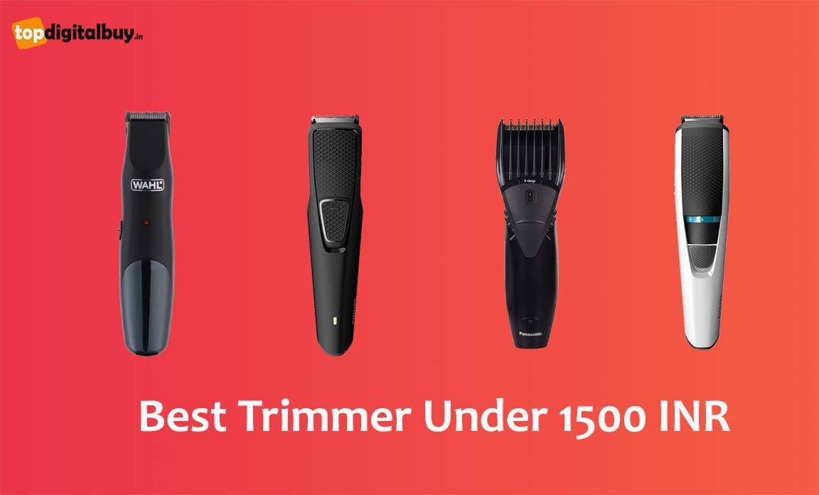 6 Best Trimmer Under 1500 INR India 2021