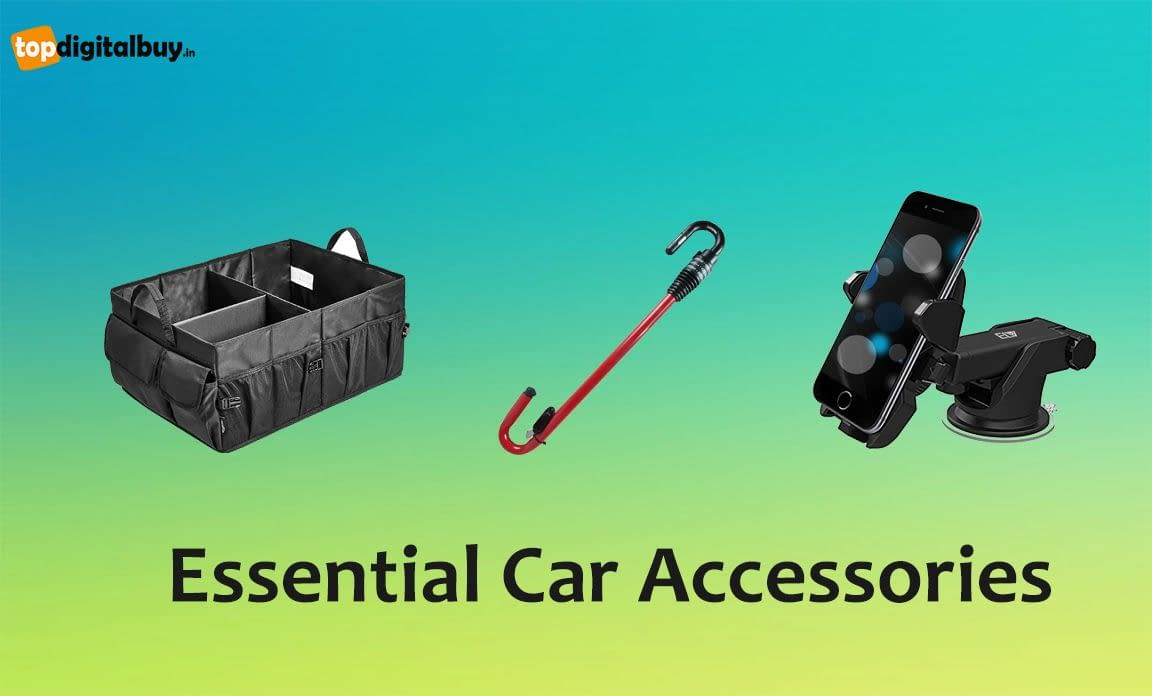 14 Essential Car Accessories List in India 2021 (Updated)