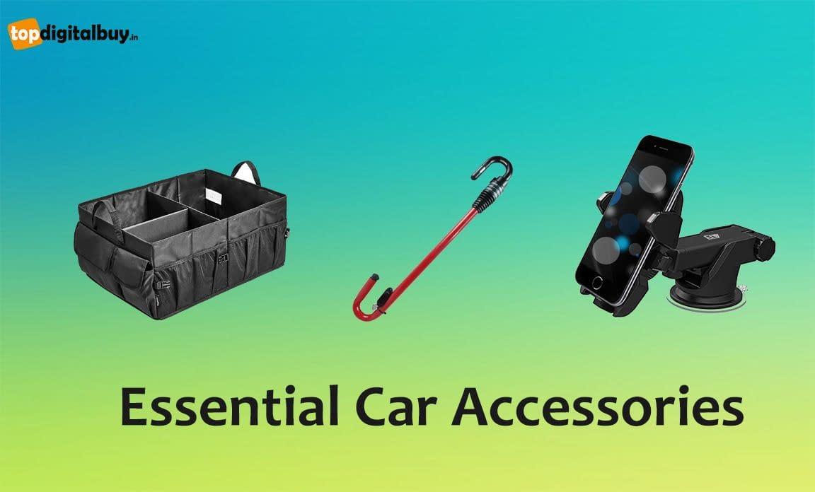 14 Essential Car Accessories List in India 2021 (Updated)