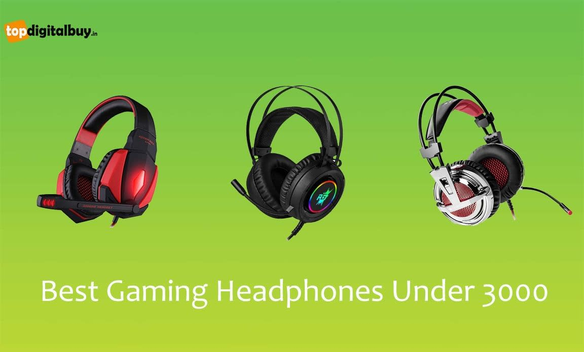 Top 7 Best Gaming Headphones Under 3000 India 2020