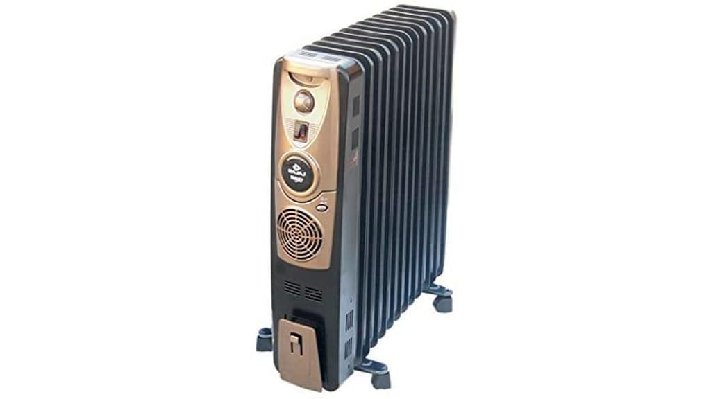 Bajaj Majesty RH 9F Plus 2000 Watts Oil Filled Room Heater