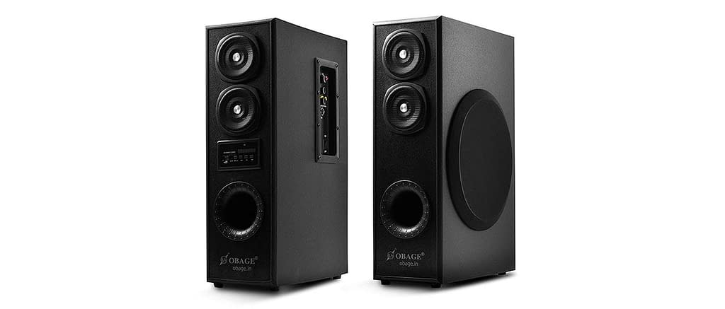 OBAGE DT-2425 Home Theaters Bluetooth Speakers Tower