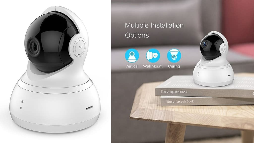 YI Dome Wireless 720p Night Vision Security Camera