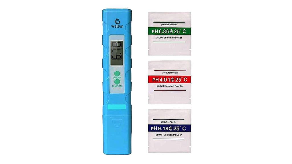 WELLON Digital Portable Pen Type pH Meter Tester