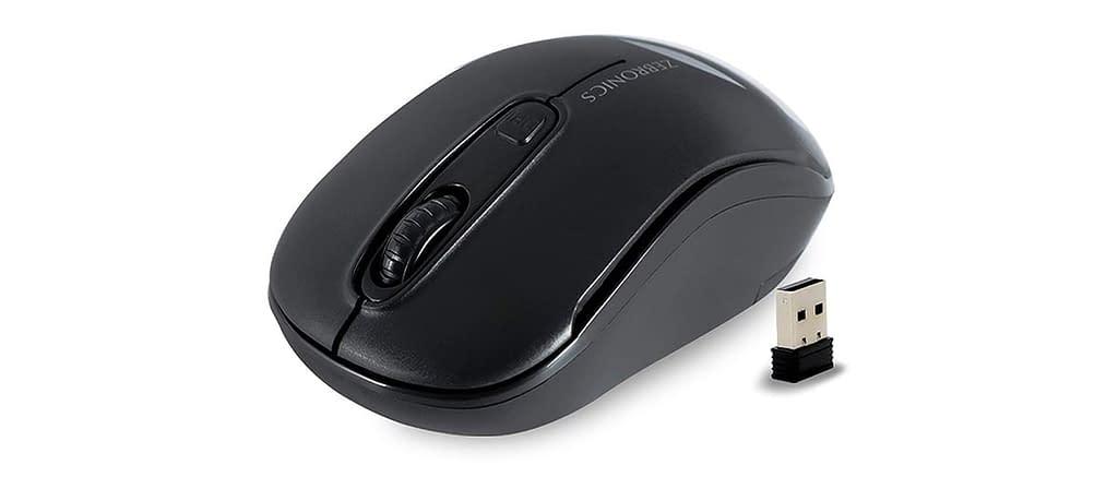 Zebronics Zeb -Dash Wireless Optical Mouse